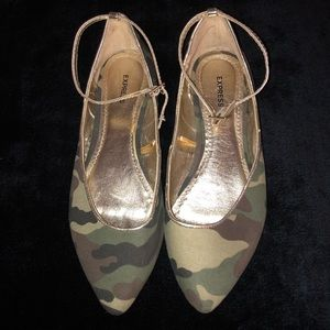 Express Camouflage flats